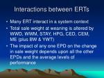 interactions between erts25