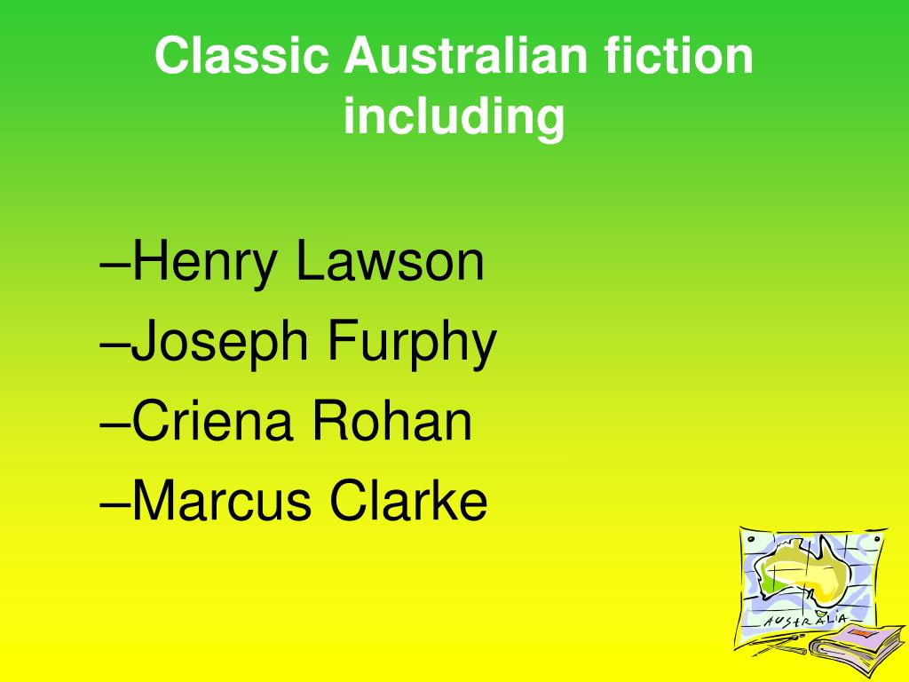 Classic Australian fiction including