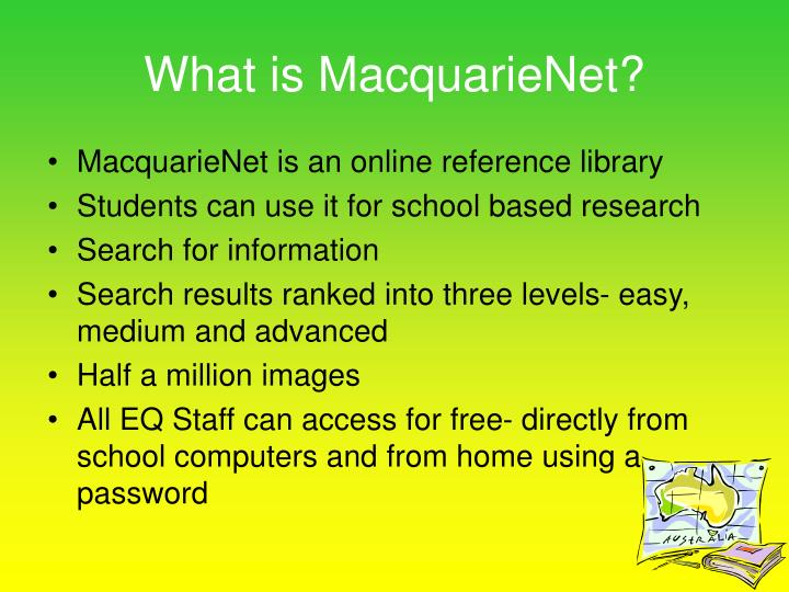 What is macquarienet