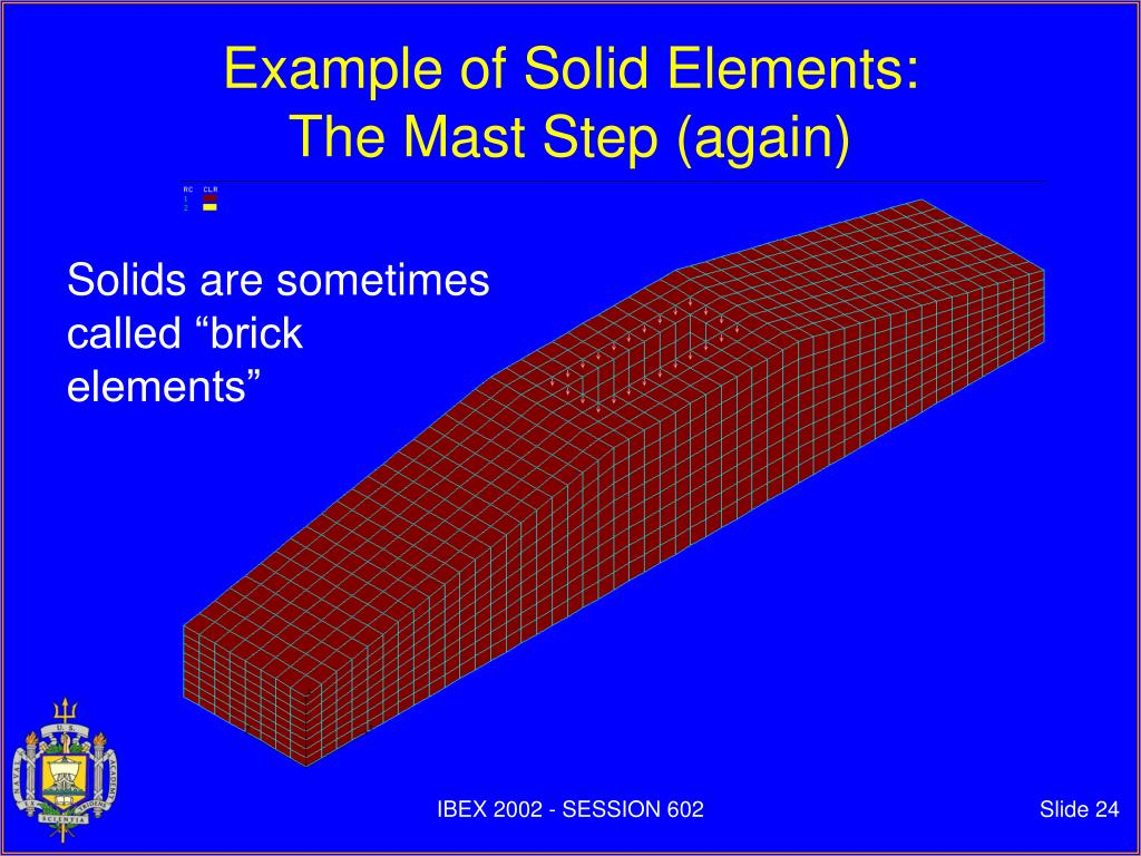Example of Solid Elements: