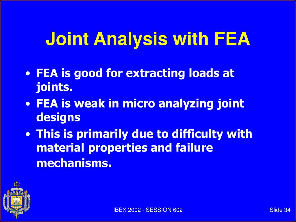 Joint Analysis with FEA