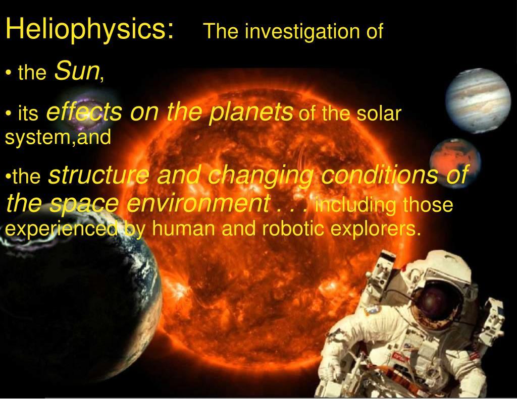 Heliophysics: