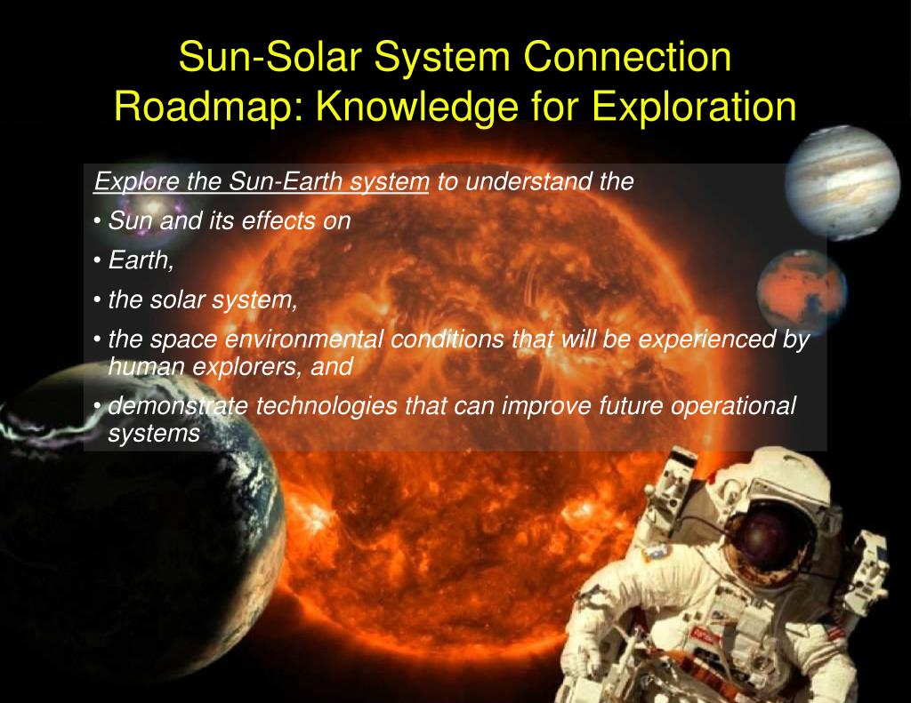 Sun-Solar System Connection Roadmap: Knowledge for Exploration