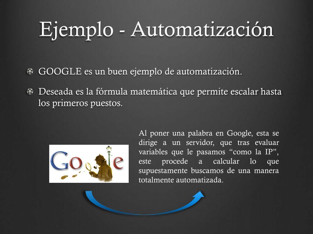 Ejemplo - Automatización