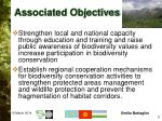 associated objectives5