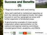 success and benefits 3