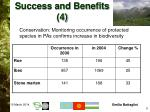 success and benefits 4
