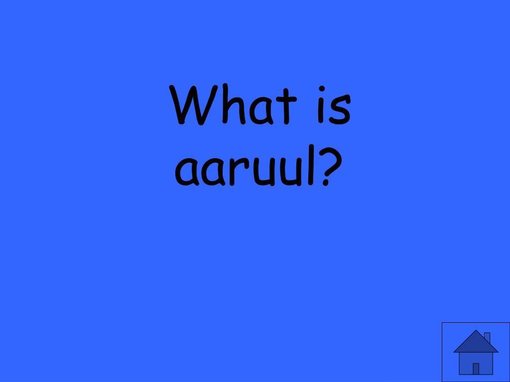 What is aaruul?