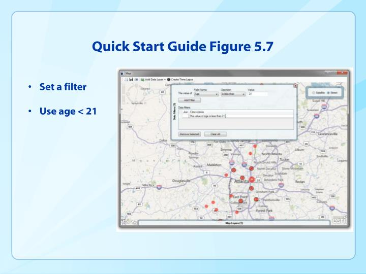 Quick Start Guide Figure 5.7