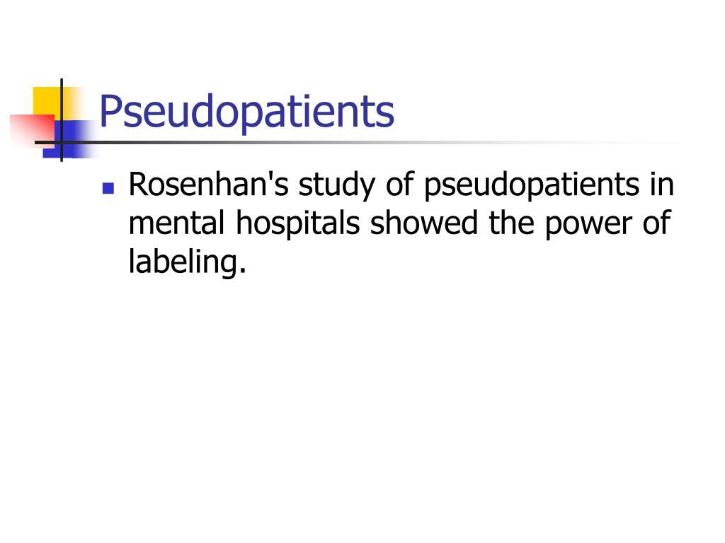 Pseudopatients
