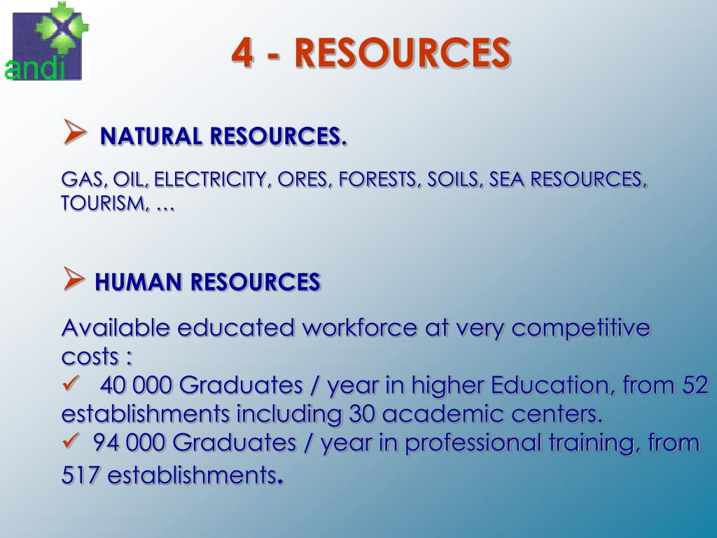 4 - RESOURCES