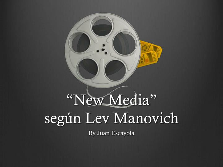 New media seg n lev manovich