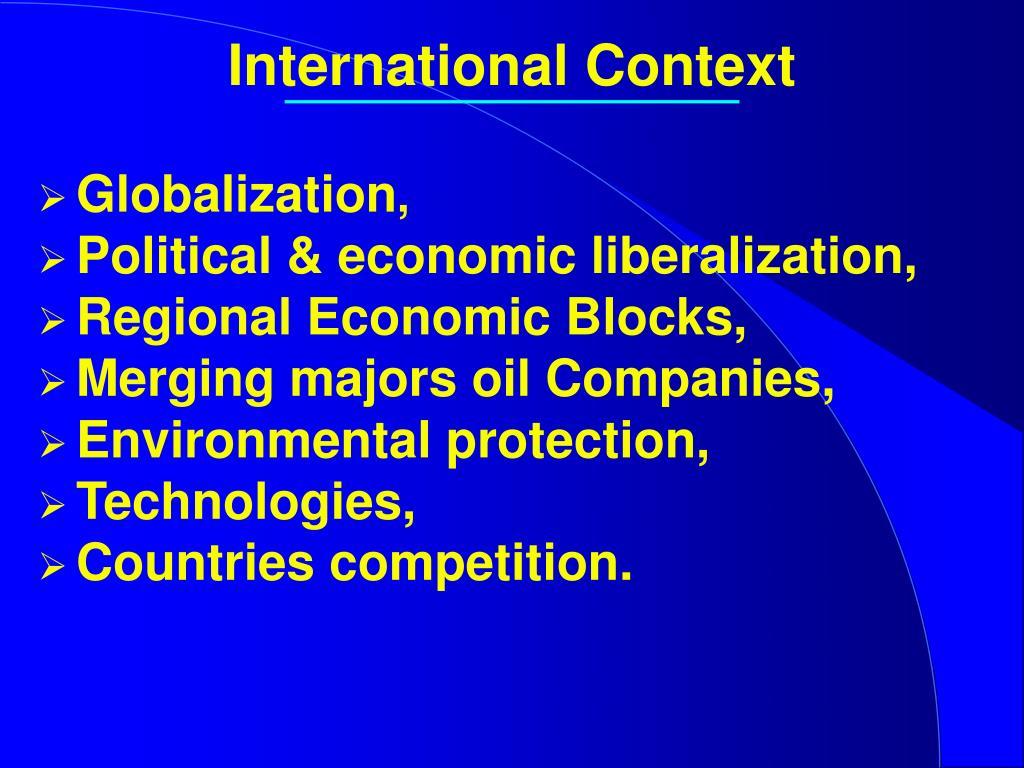 International Context