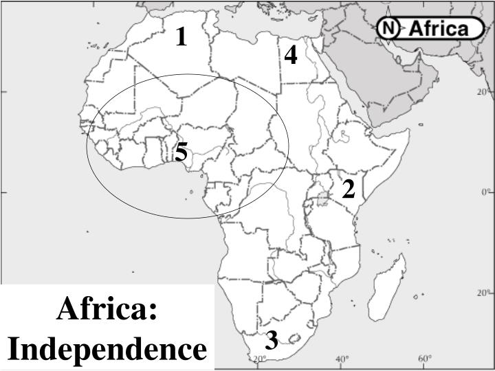 Africa independence