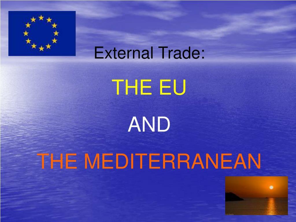 External Trade: