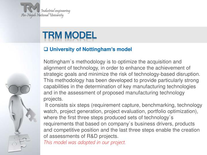 Trm model