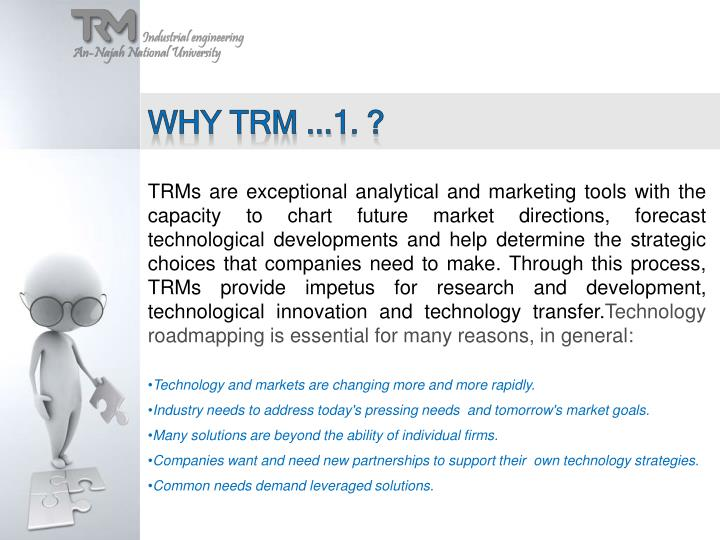 Why TRM ...1. ?
