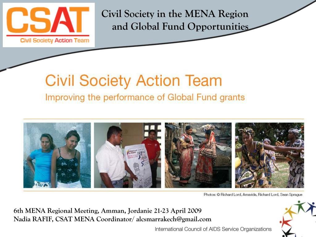 Civil Society in the MENA