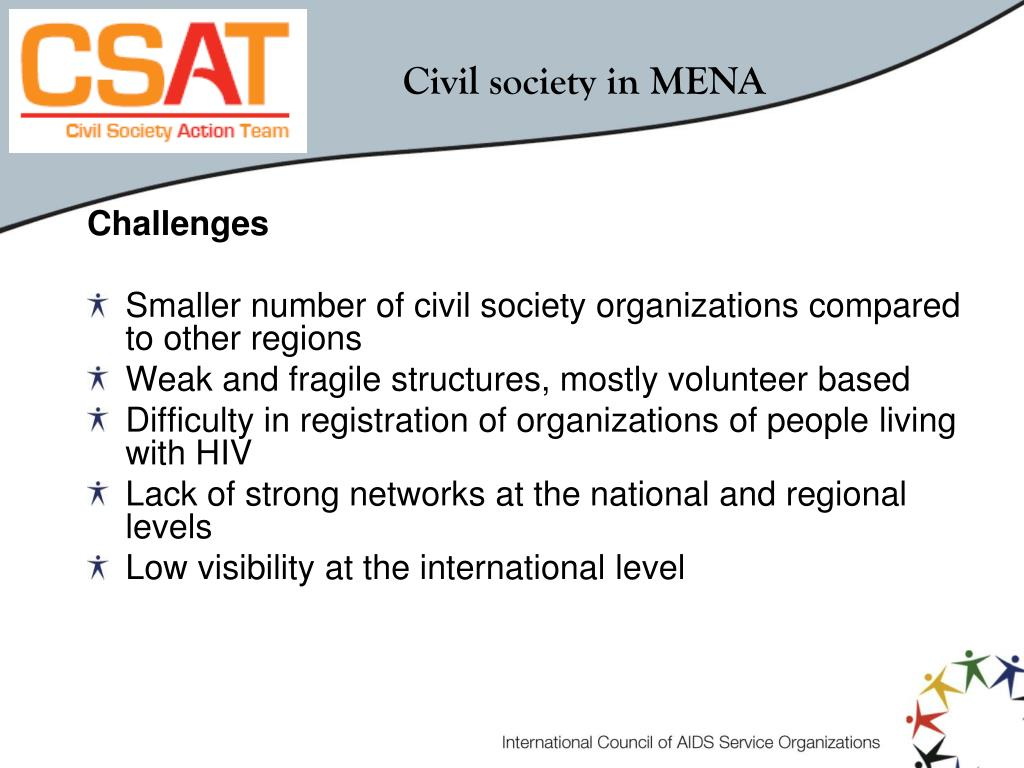Civil society in MENA