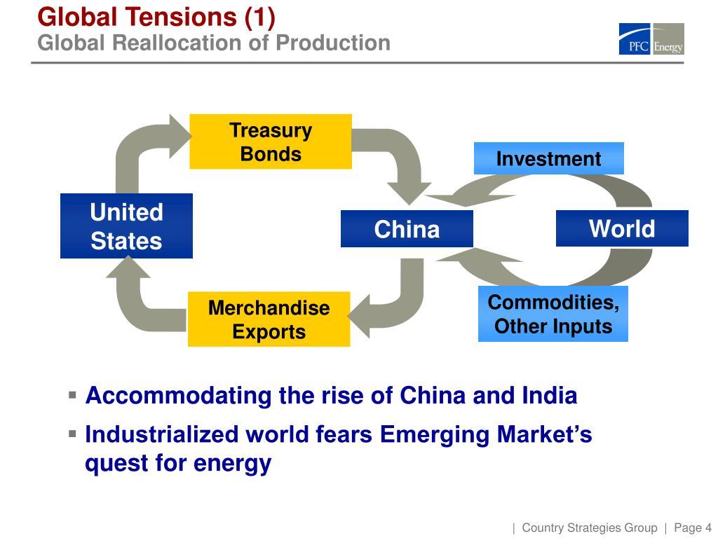 Global Tensions (1)