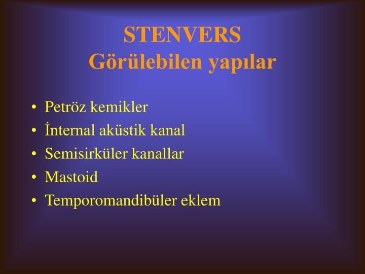STENVERS