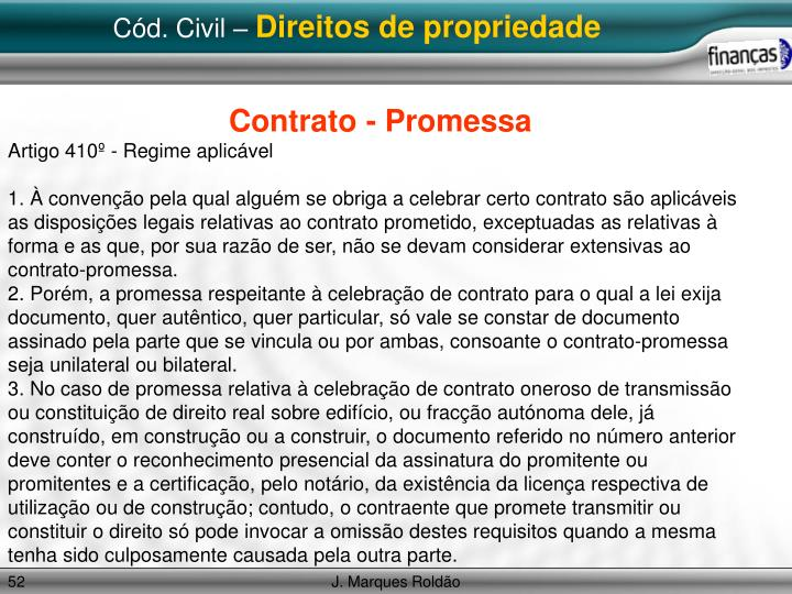 Cód. Civil –