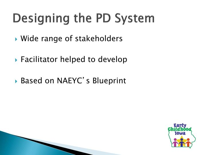 Designing the pd system