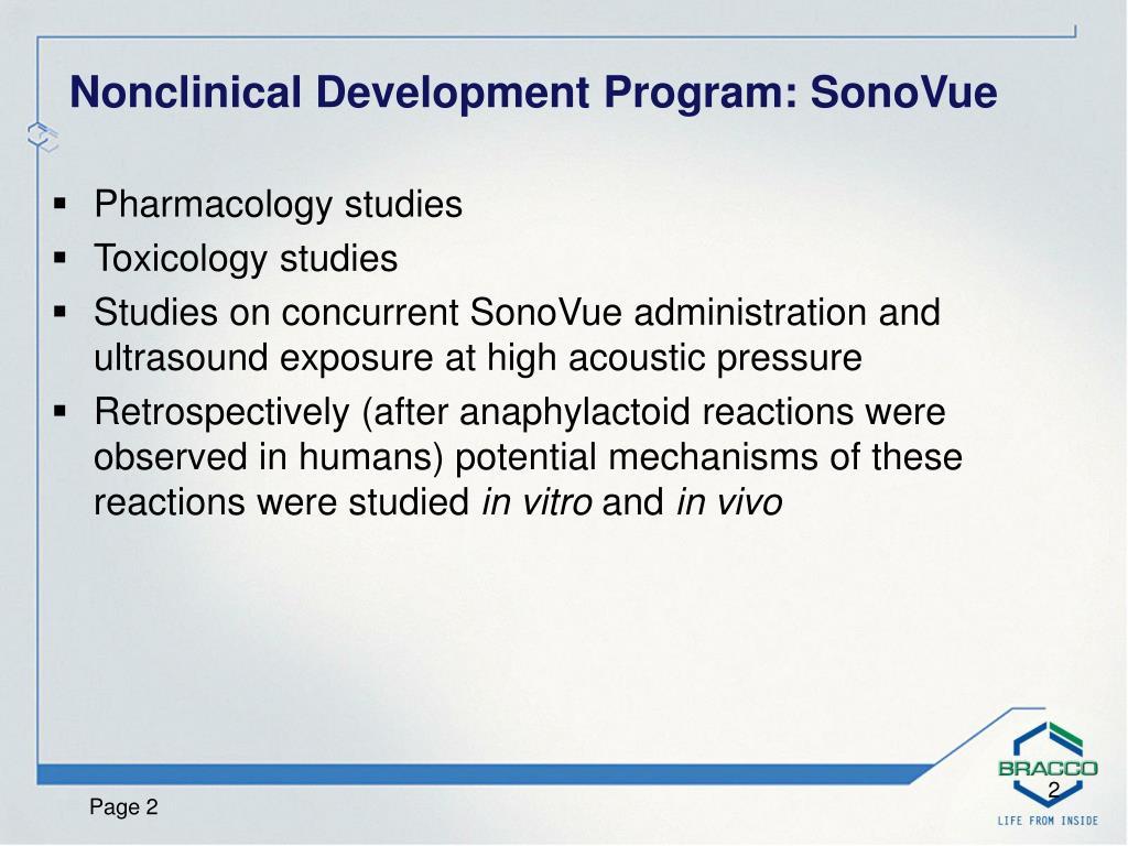 Pharmacology studies
