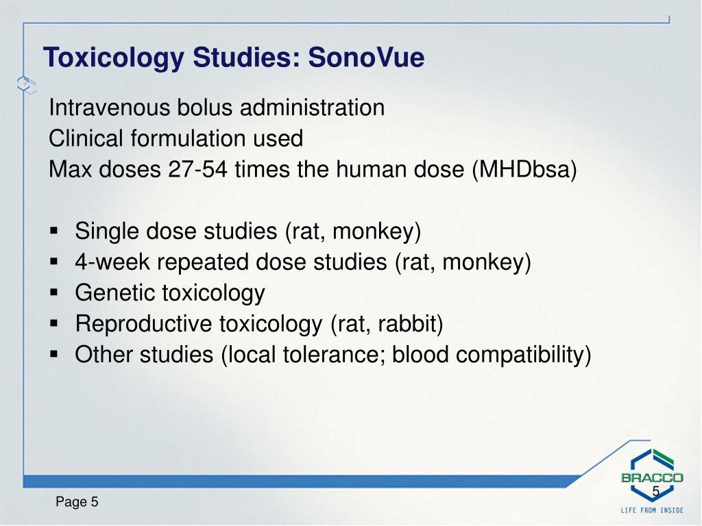 Intravenous bolus administration