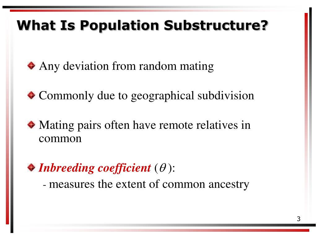 What Is Population Substructure?