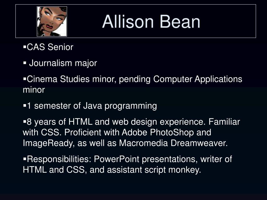 Allison Bean