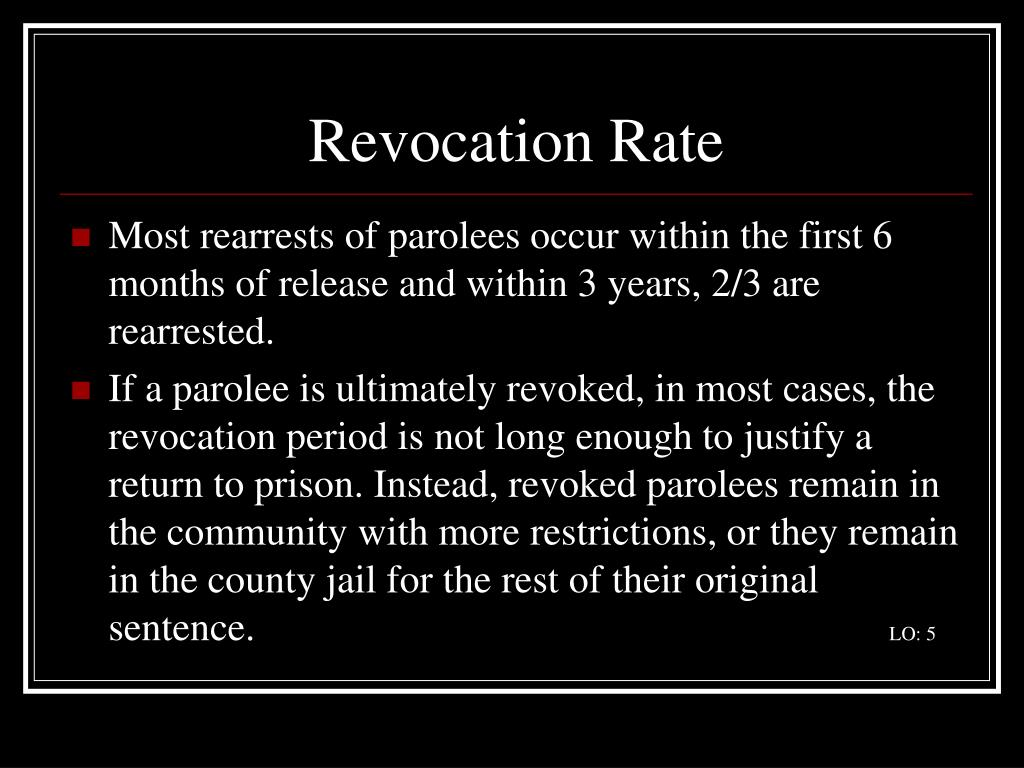 Revocation Rate