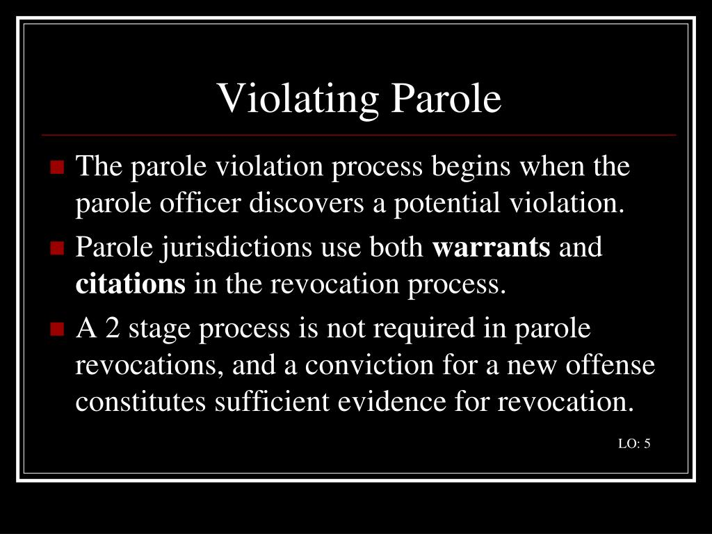 Violating Parole