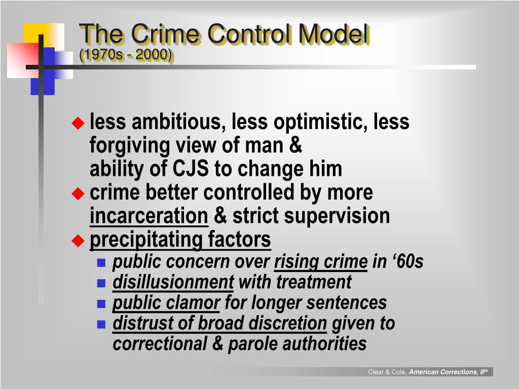 The Crime Control Model