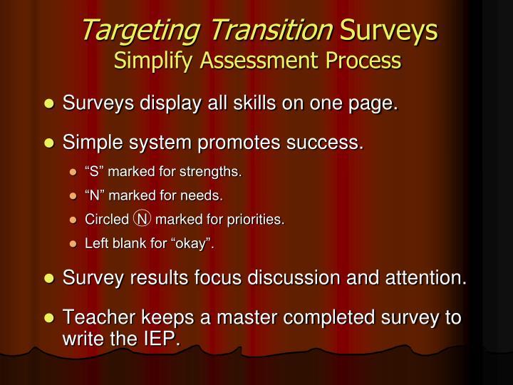 Targeting Transition