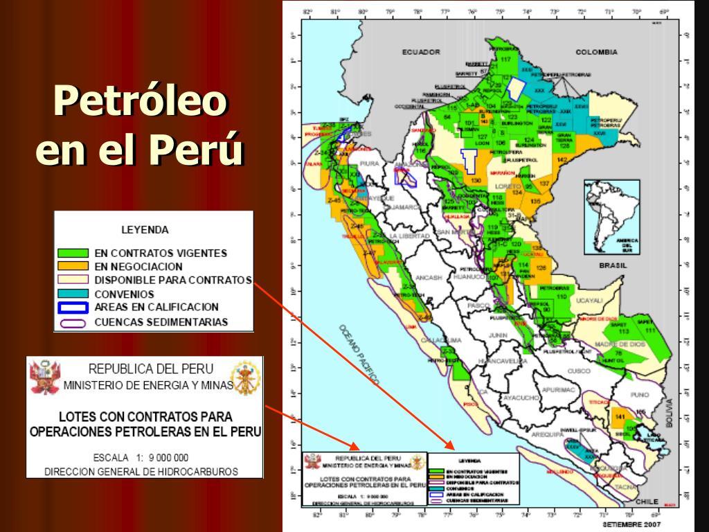 Petróleo en el Perú