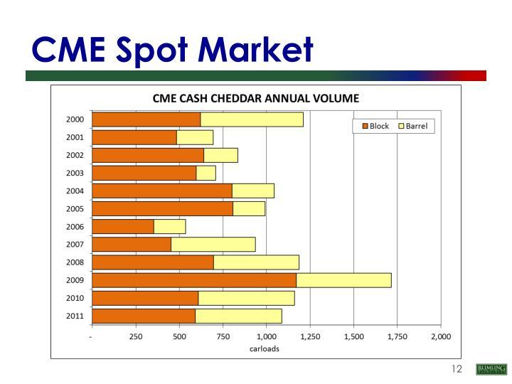 CME Spot Market