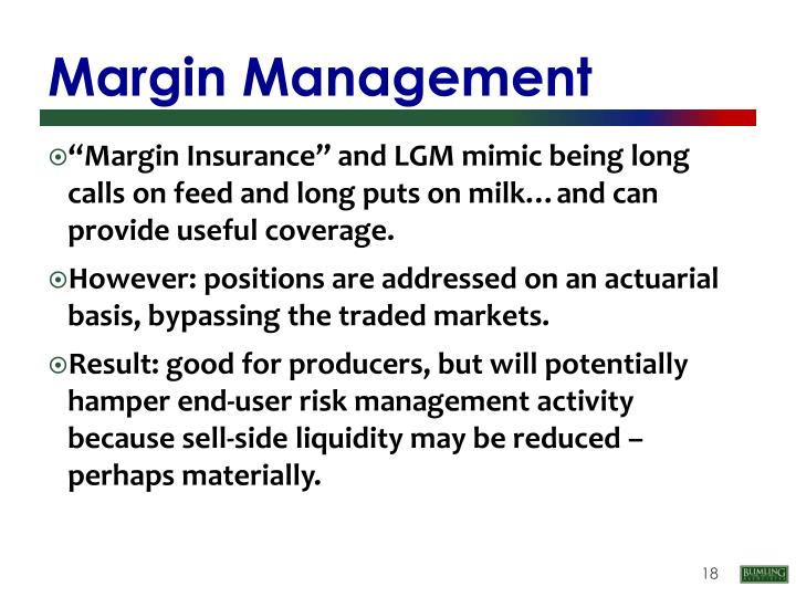 Margin Management