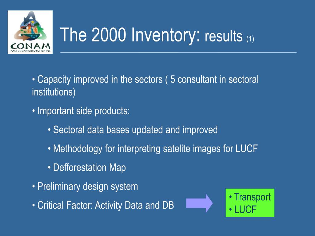 The 2000 Inventory: