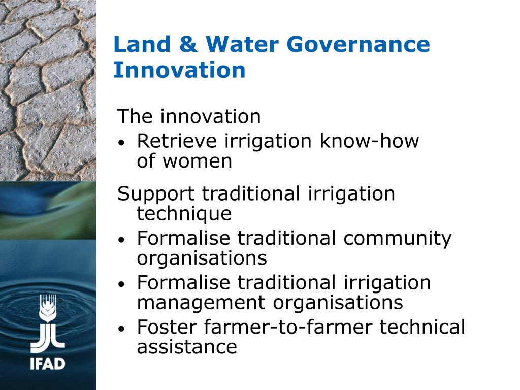 Land & Water Governance
