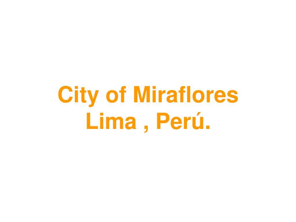 City of Miraflores