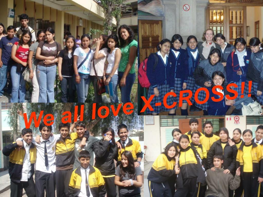 We all love X-CROSS!!