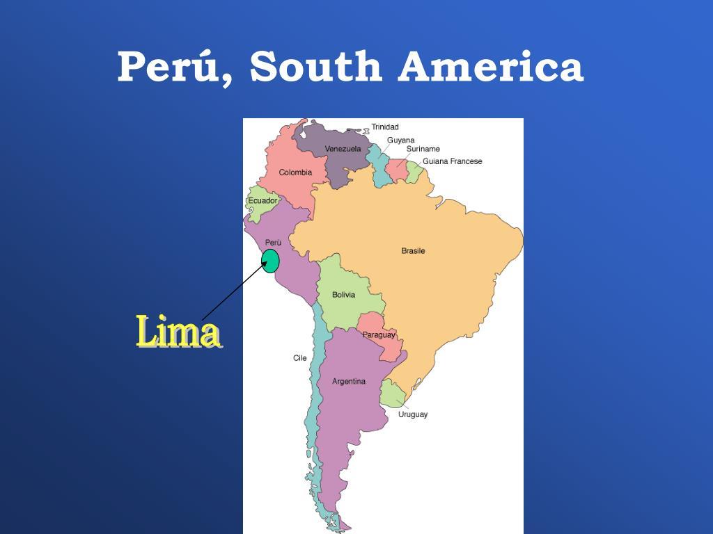 Perú, South America