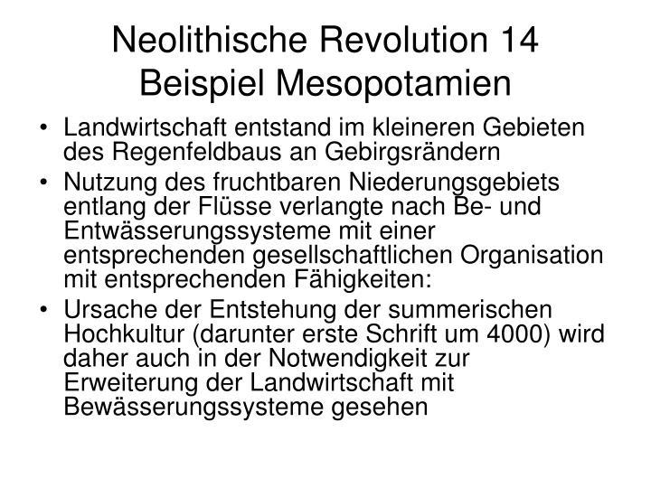 Neolithische Revolution 14