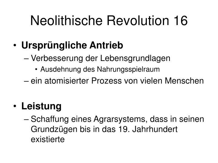 Neolithische Revolution 16