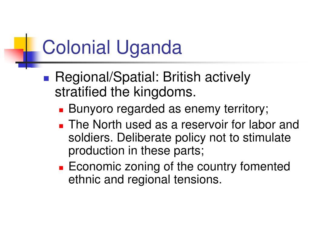 Colonial Uganda