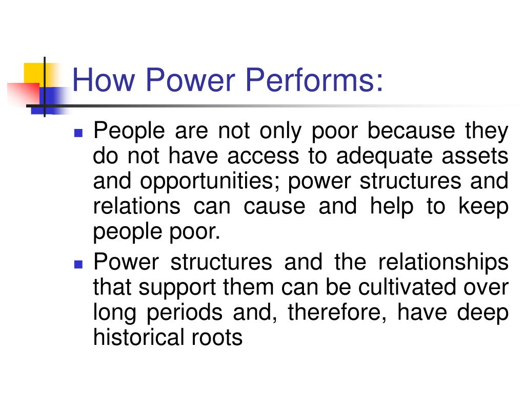 How Power Performs: