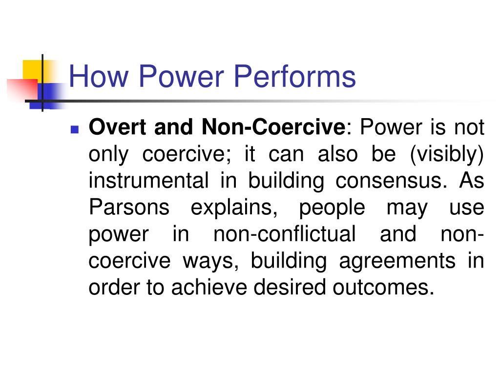 How Power Performs