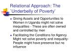 relational approach the underbelly of poverty15