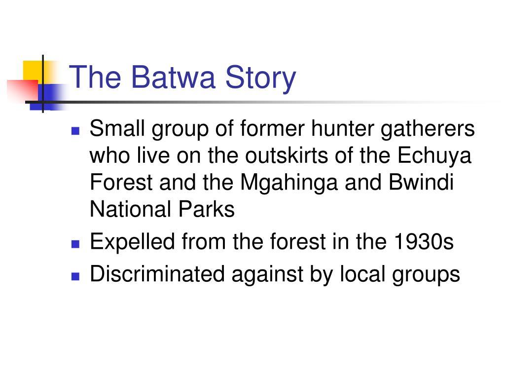The Batwa Story